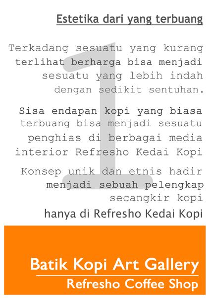 Batik Limbah Kopi Art Gallery