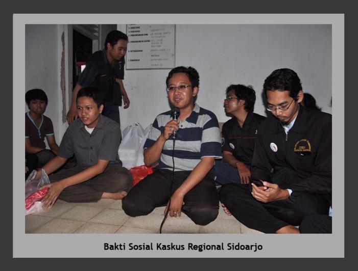 Bakti Sosial Kaskus Regional sidoarjo