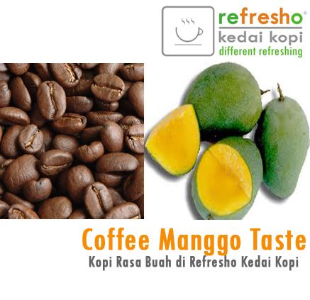Kopi rasa buah mangga