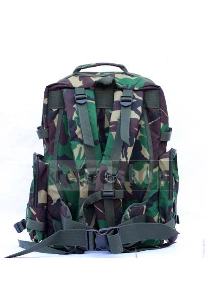 TAS RANSEL MILITER TNI PX320 REFRESHOP PERLENGKAPAN MILITER