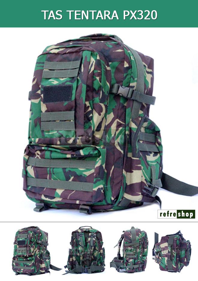 Tas Tentara Murah PX320 Refreshop